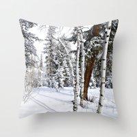 Colorado Scene Throw Pillow