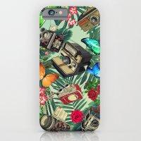 tropical vintage  iPhone 6 Slim Case
