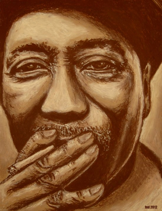 """mississippi man"" Canvas Print"