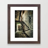Neglected Stairway Framed Art Print
