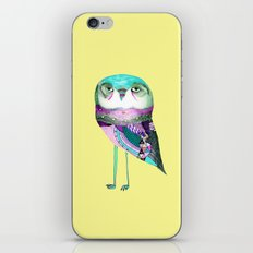 Owl Print iPhone & iPod Skin