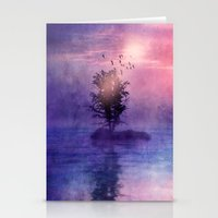 natural feelings (colour option) Stationery Cards