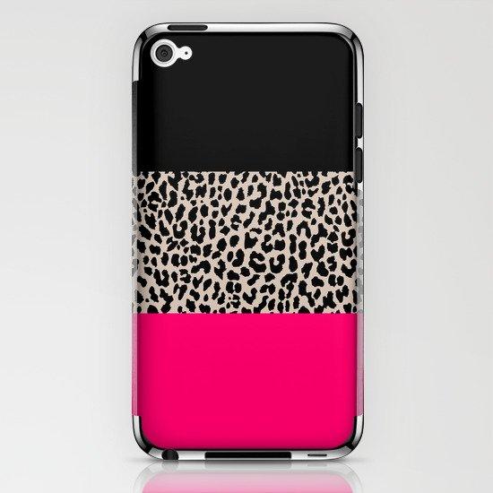 Leopard National Flag IV iPhone & iPod Skin