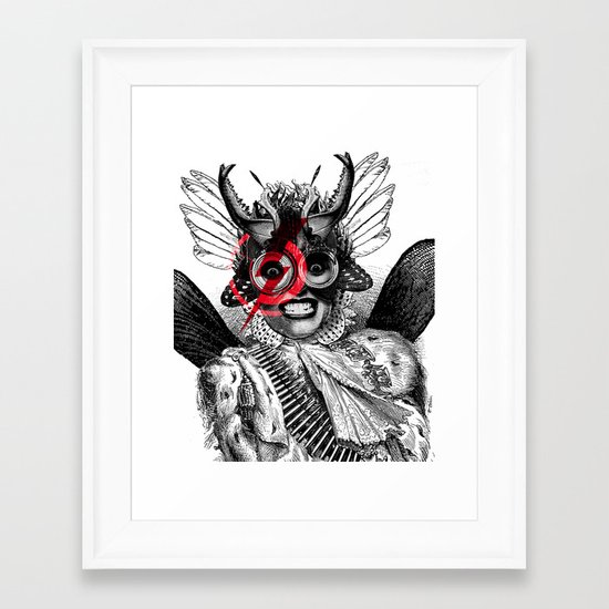 The Baroness Framed Art Print