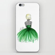 Emerald Dress iPhone & iPod Skin