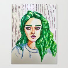 green godess Canvas Print