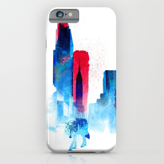 The wolf of the City iPhone & iPod Case