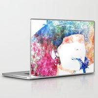audrey hepburn Laptop & iPad Skins featuring Audrey Hepburn by Heaven7