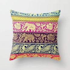 Elephant Boho Throw Pillow