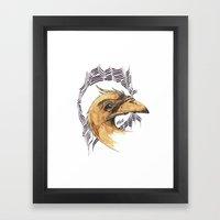 SAINT BIRD OF PARADISE  Framed Art Print