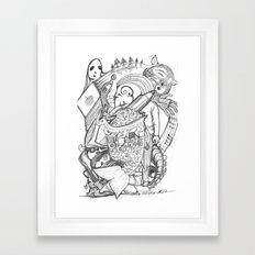 CV3 Framed Art Print