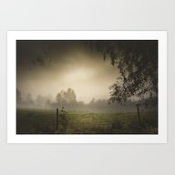 Art Print featuring Even Heroes Cry Sometime… by HappyMelvin