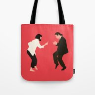 Tote Bag featuring Pulp Fiction by Live It Up