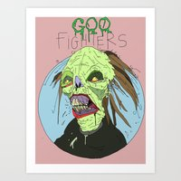 Grave Dohl And The Goo F… Art Print