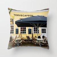 Cafeen Throw Pillow