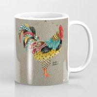 Rooster Mardi Mug