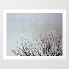 Dancing Branches Art Print