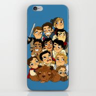 iPhone & iPod Skin featuring Place Of Princes by KnightJJ