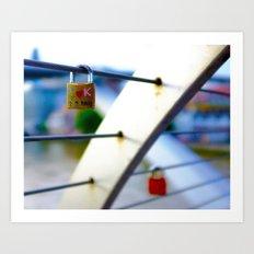 Love Locks 2012 08 Art Print