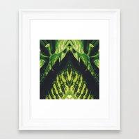 50 Shades of Green (5) Framed Art Print