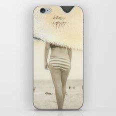 Beach#3 iPhone & iPod Skin