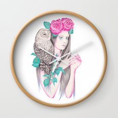 Blossomtime Wall Clock