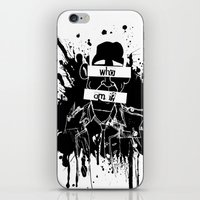 GuessWho? *remastered* iPhone & iPod Skin