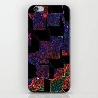 Electric Cubes  iPhone & iPod Skin