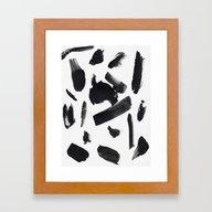 Space A Framed Art Print