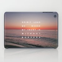 Spirit Lead Me iPad Case