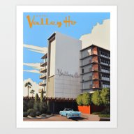 Hotel Valley Ho Art Print