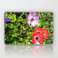 COLORED FLOWERS Laptop & iPad Skin