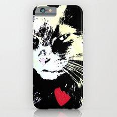 Key lime kitty iPhone 6 Slim Case