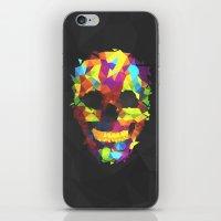 Meduzzle: Colorful Geometry Skull iPhone & iPod Skin