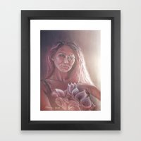 Tainted Offering Framed Art Print