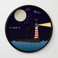 Light Wall Clock