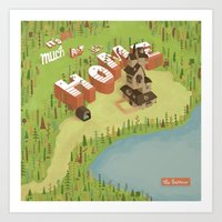 The Burrow Art Print