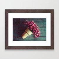Flower Cone I Framed Art Print