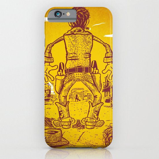 The Last Showdown - The good guy iPhone & iPod Case