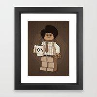 I am a Giddy Goat! Framed Art Print