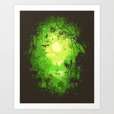 Autumn Green Art Print
