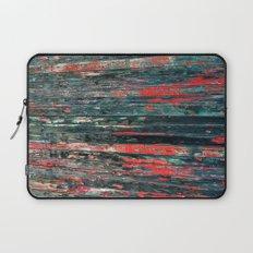 Red Splinters Laptop Sleeve