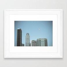 Los Angeles Balloon Framed Art Print