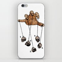 The Five Dancing Skulls … iPhone & iPod Skin