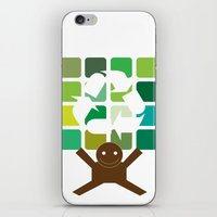 green world iPhone & iPod Skin