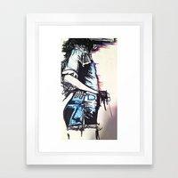 Thinking Of Framed Art Print