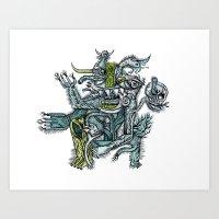 Holy Dance - Print Avail… Art Print