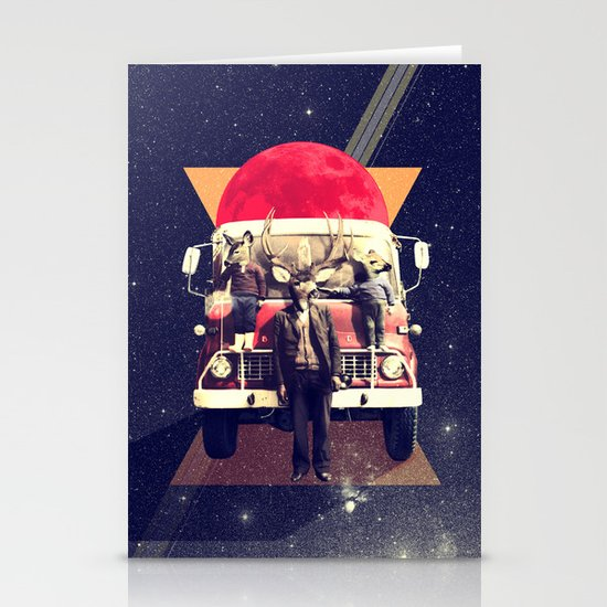 El Camion Stationery Card