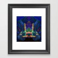 Sea Creature #2: The Shy… Framed Art Print