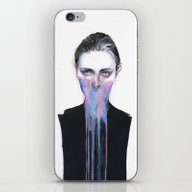 iPhone & iPod Skin featuring My Opinion About You by Agnes-cecile